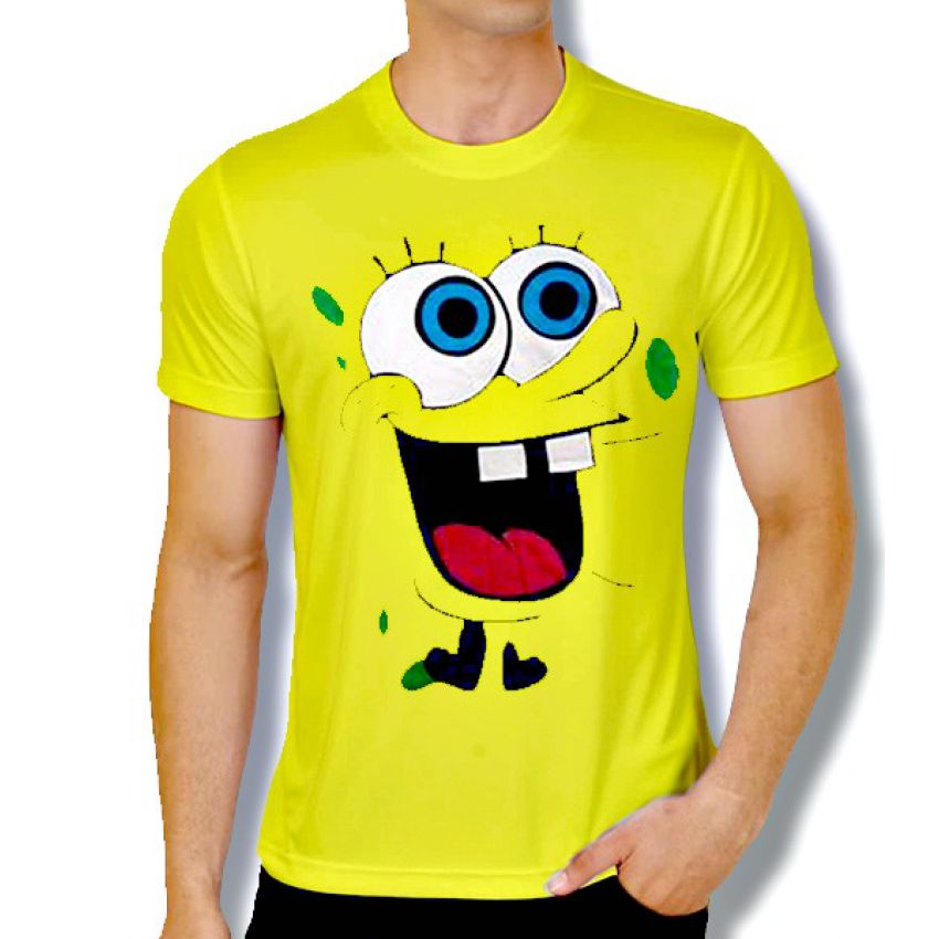 Buy Stylish Spongebob T Shirts For Mens Online In Pakistan