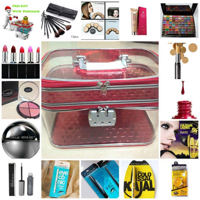 Makeup Bundle Mix Kit With