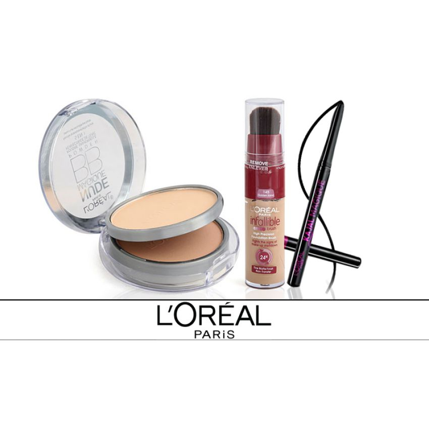 Pack Of 3 Loreal Cosmetics For Her