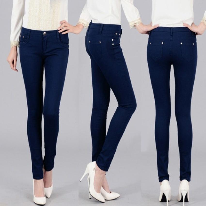 Buy Blue Denim Jeans Ladies Online In Pakistan Buyon Pk
