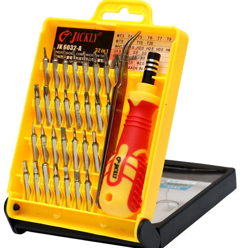 buy jackly 32 in 1 professional screwdriver tool kit online in pakistan. Black Bedroom Furniture Sets. Home Design Ideas