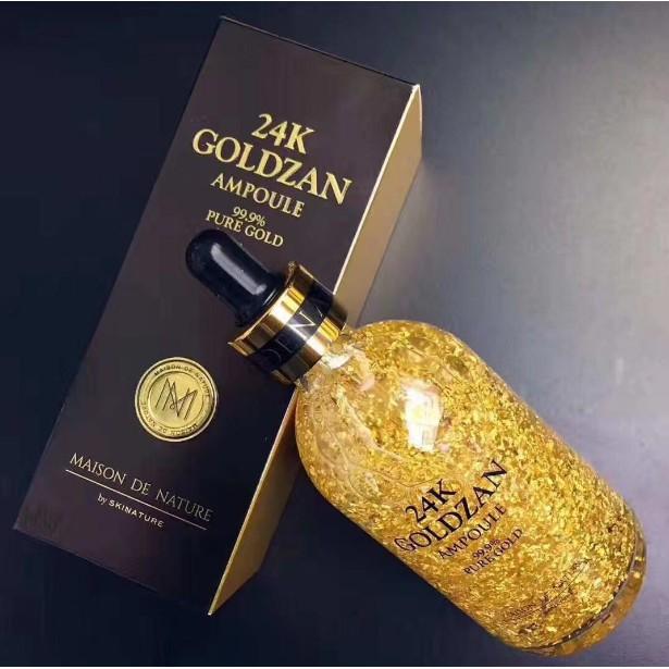 Buy Goldzan 24k Ampoule Pure Gold Serum Pure Gold Face Essence Online In Pakistan Buyon Pk