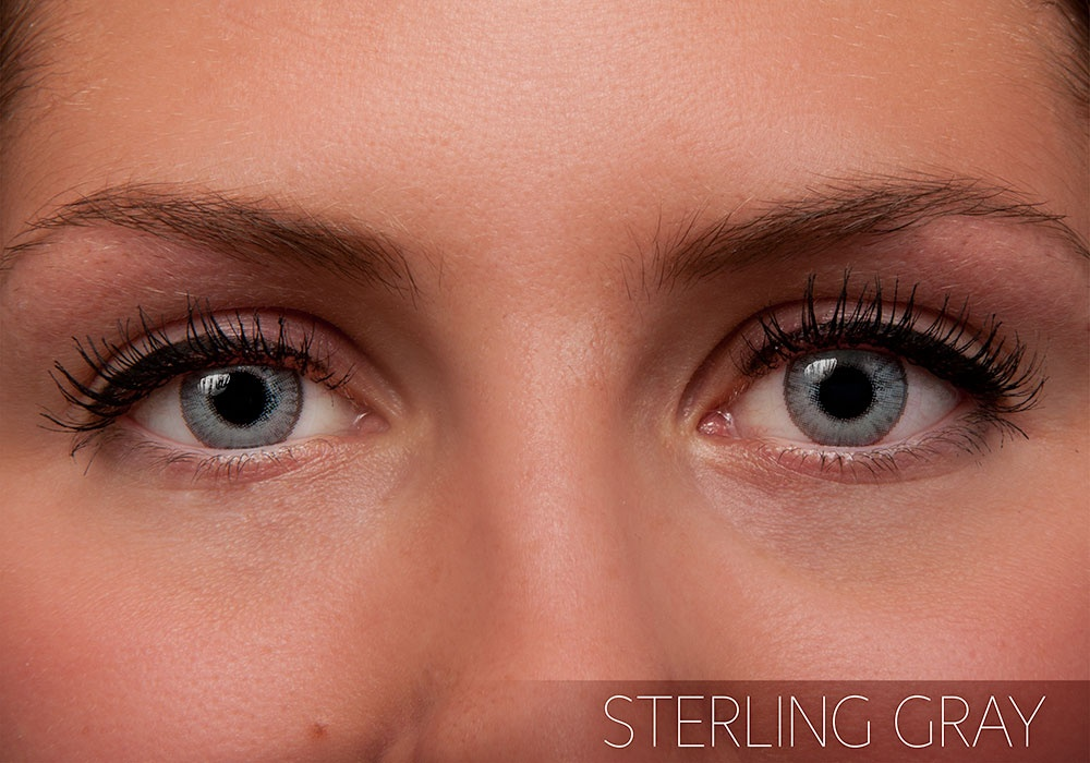 Freshlook Colorblends Sterling Gray Contact Lens