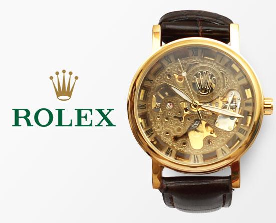Rolex Watch For Kids >> Rolex Skeleton Automatic Wrist Watch for Men