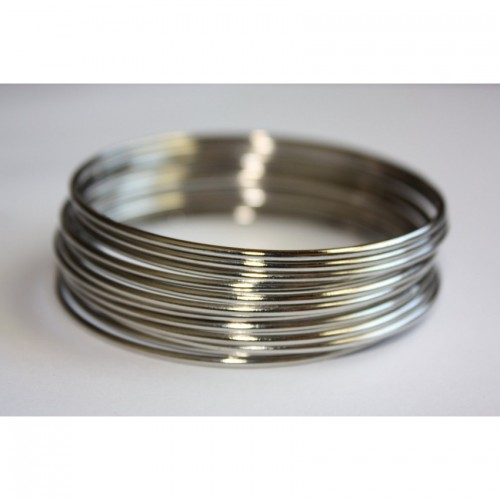 99 Silver Stylish Bangles For Her